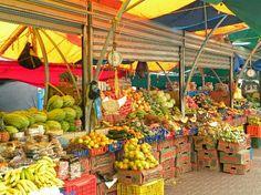 Punda (food, shops, floating market) - Willemstad, Curacao