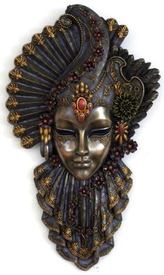 My sheets for Decoupage - Top Win Space Masks Art, Clay Masks, Tiki Maske, Venetian Carnival Masks, Venice Mask, African Masks, Beautiful Mask, Art Graphique, Diy Mask