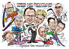 Winterspelen in Vancouver koningin Maxima karikatuur By Christel Schols, sneltekenaar.nl