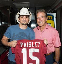 Roll Tide, Brad Paisley!