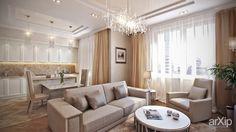 Гостиная #3d_visualization #interior