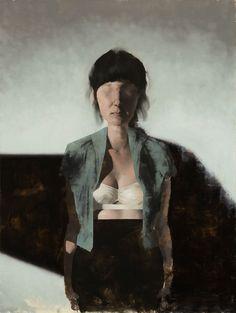 "Matthew Saba   ""Haunt and Hunger""   Abend Gallery Fine Art"