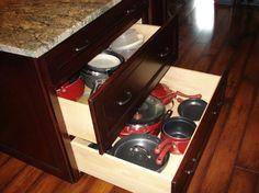 Pots & Pans drawer