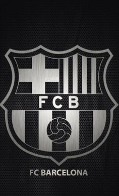 Barcelona logo black and white wallpaper Barcelona Team, Barcelona E Real Madrid, Barcelona Futbol Club, Cr7 Messi, Messi Soccer, Neymar Jr, Team Wallpaper, Football Wallpaper, White Wallpaper