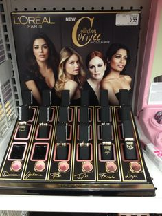 L'Oreal Collection Privee Colour Riche Lipstick Swatches – Musings of a Muse All Things Beauty, Beauty Stuff, Makeup For Moms, Freida Pinto, One Color, Colour, Lipstick Swatches, Makeup Items, Makeup Obsession