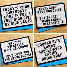 Marquee Cards