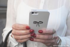 Black and white outfit with Nunuco Design iPhone case - Adalmina's Secret