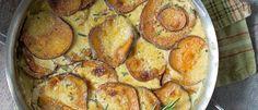 Creamy Sweet Potato Dauphinoise