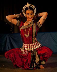 Collena Shakti in red