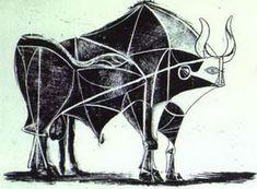 Pablo Picasso. The Bull. State V, 1945