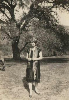 A teenager in the 1920's