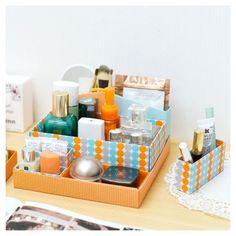 Multi Desk top DIY mini storage box in box - orange, (http://www.fallindesign.com/multi-desk-top-diy-mini-storage-box-in-box-orange/)