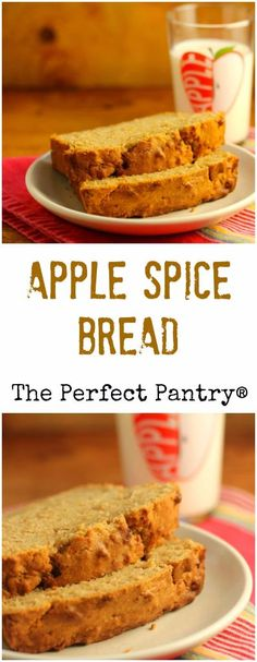 ... family's absolutely favorite apple spice bread (it's really a cake