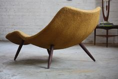 Arresting Adrian Pearsall Mid Century Modern Contour Chaise Lounge Model 1828-C for Craft Associates
