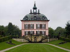 Fasanenschlösschen hunting lodge (Johann Daniel Schade & Johann Gottlieb Hauptmann, 1769-1782)