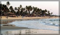 Colva Beach is a white sandy beach, which is covered with coconut and palm trees. This beach offers the  view of the Arabian Sea. Tourists can see the colonial villas and the fishing huts, which lie in the  proximity of the beach. Besides, water activities like fishing and swimming can also be enjoyed at this beach.