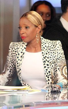 mary j blige fashion style 2013 | Who Wore It Better? Mary J. Blige vs. Nicki Minaj in Roberto Cavalli's ...