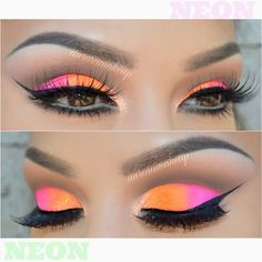 ♥AURORA ♥ @auroramakeup Same neon look th...Instagram photo | Websta (Webstagram)