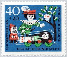 German fairytale stamps