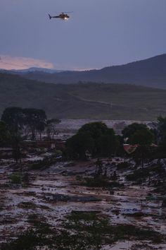 Barragem se rompe, causa destruição e deixa desaparecidos em Minas Gerais (FOTOS)