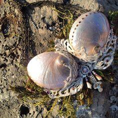 Merbella studios inc - handmade mermaid seashell abalone mermaid top Mermaid Cosplay, Mermaid Outfit, Disney Costumes, Cool Costumes, Halloween Costumes, Mermaid Top, Mermaid Board, Project Mermaid, Realistic Mermaid Tails