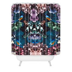 Kangarui Crystal Cave Shower Curtain   DENY Designs Home Accessories