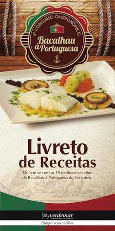 Livro de Receitas Bacalhau à Portuguesa Verdemar