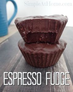 Simple espresso fudge you can make at home | coffee | espresso | fudge | dessert recpes