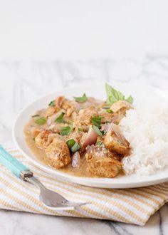 وصفات: دجاج بكريمة جوز الهند