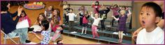 """Calgary, Alberta: Kids make great music… Music makes great kids!"""" KIDS & MUSIC is an innovative, dynamic music education program using games, movement and creative teaching to enhance learning and make it FUN! Pre-K through Grade 2"""