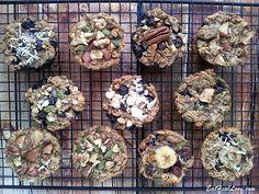 Baked oatmeal breakfast/snack muffins