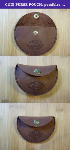"""COIN PURSE POUCH, possibles bag,earbud holder.Father's Day Gifts cord keeper. stash bag. made in the U.S.A. MADE IN THE USA. 5-6 OUNCE FULL GRAIN LEATHER COIN POUCH WITH SOLID BRASS SNAP. MADE IN THE U.S.A. Hand made in my studio 4"""" x 3"""" Very slim for your front pocket PURSE OR IN YOUR CAR Fully tanned brown 5-6 oz premium cowhide oil tanned leather This premium leather will develop a rich patina with time Made to last. Only gets better with time. Beautiful premium leather from my…"""