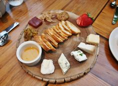 lovely cheese plate