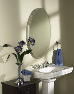 4d759620309 Beveled Oval - Medicine Cabinet Mirror Door