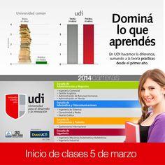 UDI - Domina lo que aprendés - Inicio de clases 5 de marzo