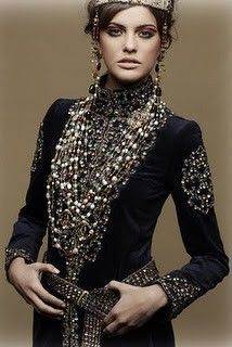 Accessorize me in layers & layers of  gems, jewels, baubles and bling.