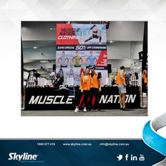 Muscle Nation - Truss Tower Display