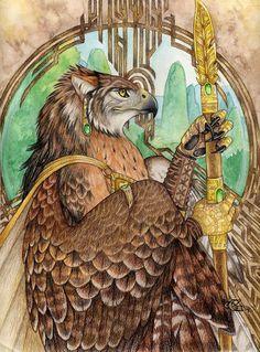 Guard by Goldenwolf.deviantart.com on @deviantART