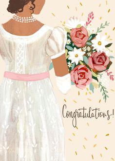 Wedding Bells, Wedding Cards, Holiday Messages, Regency Dress, Wedding Congratulations, Birthday Scrapbook, Thanks A Bunch, Happy Birthday Greetings, Wedding Pinterest