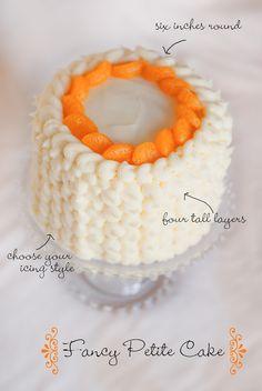 Fancy Iced Petite Cake