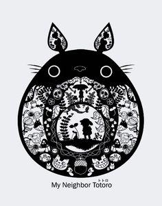 Beautiful Totoro Art