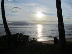 Ka'anapali Beach at sunset