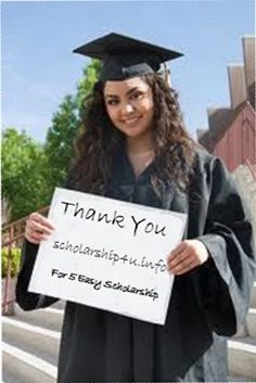 6 Easy Scholarships that anyone can WIN (Update)You'll be surprised to know that there are some Easy Scholarships available for students. These Easy scholarships is not based on your academic results. But a lot of students think that  there GPA isn't good enough. Or They don't have enough time.