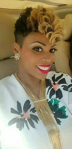 45 Razor Chic of Atlanta Short Hairstyles for Black Women - Short Hair With Bangs, Short Curly Hair, Short Hair Cuts, Curly Hair Styles, Natural Hair Styles, Black Women Short Hairstyles, Girls Short Haircuts, Asymmetrical Hairstyles, Pixie Hairstyles