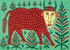 koroleni - Мария Примаченко.  Maria Prymachenko--Ukranian folk artist