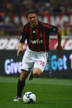 ~ Andriy Shevchenko of AC Milan ~