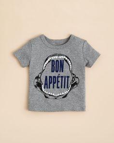 Bloomie's Boys' Bon Appetit Tee - Sizes 2-4T