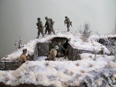 Dioramas and Vignettes: Winter episode of WWII, photo #6