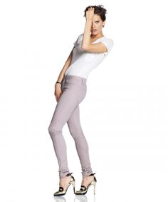 Lavendar Skinny Jeans <3