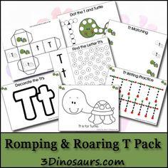 Free Romping & Roaring T Pack - 3Dinosaurs.com